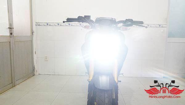 đèn pha moto mt15 yamaha