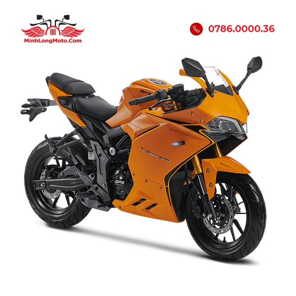 gpx demon 150cc màu vàng