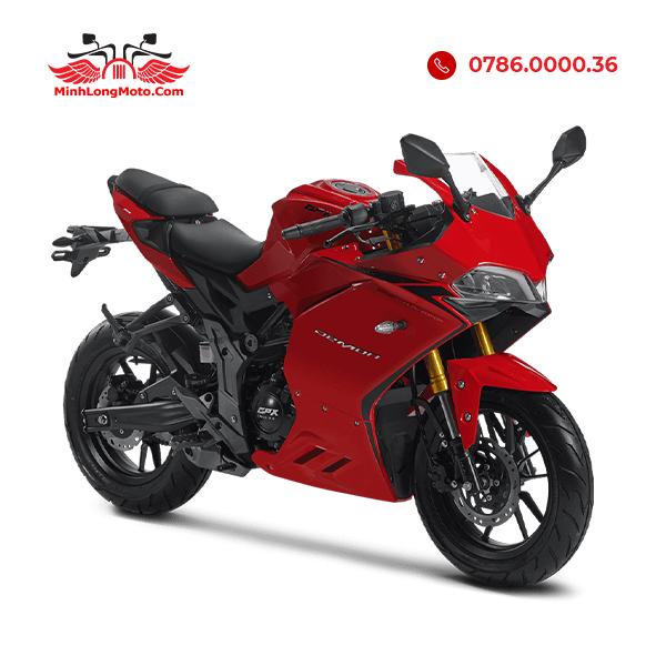 xe moto mini 150cc màu đỏ