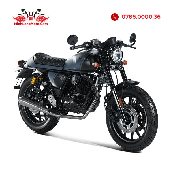 gpx legend 200cc 2020 màu xánh đen