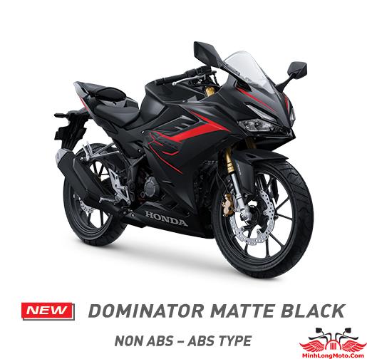 CBR 150 2021 Dominator Matte Black