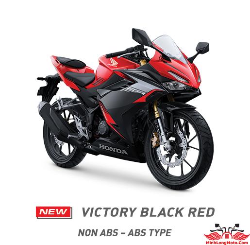 CBR 150 2021 Victory Black Red