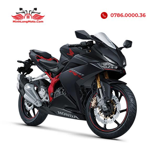 cbr250rr màu đen đỏ