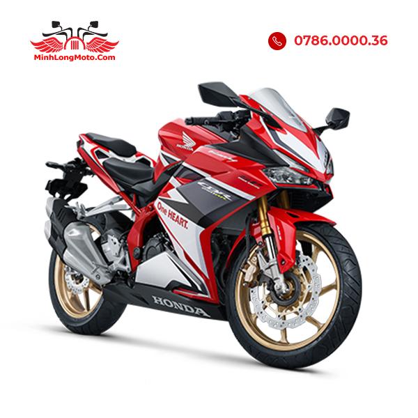 cbr250rr màu trắng đỏ racing