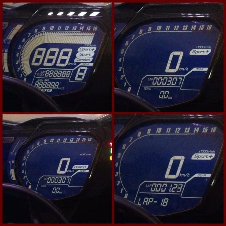 Chế độ lái CBR250RR