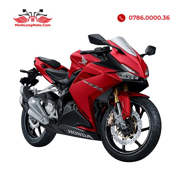 cbr250 màu trắng đỏ racing