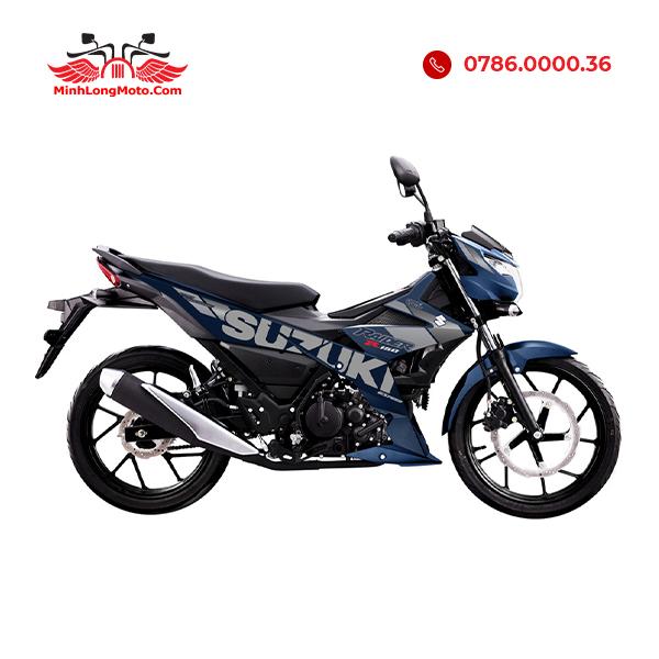 Suzuki Raider màu xanh xám