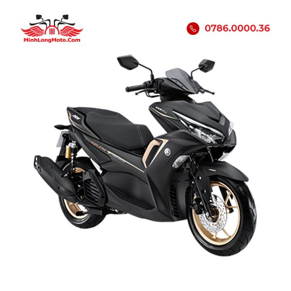 Yamaha NVX 155 VVA màu đen viền đồng