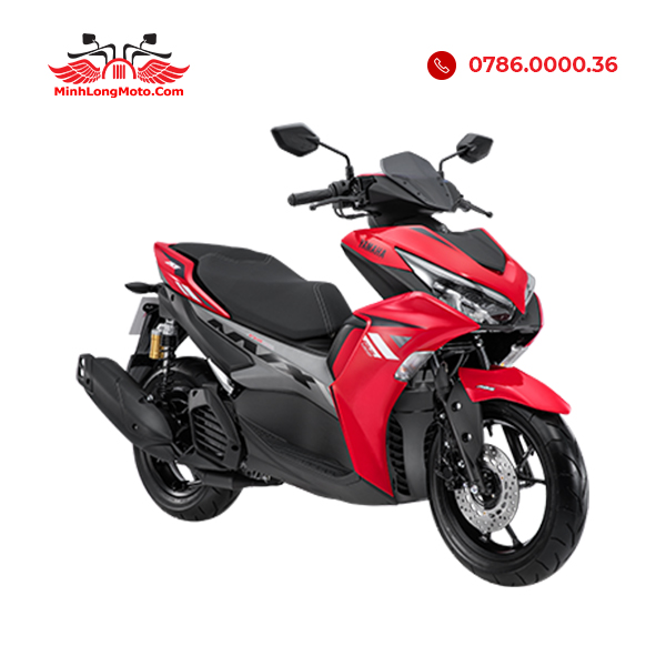 Yamaha NVX 155 VVA màu đỏ đen