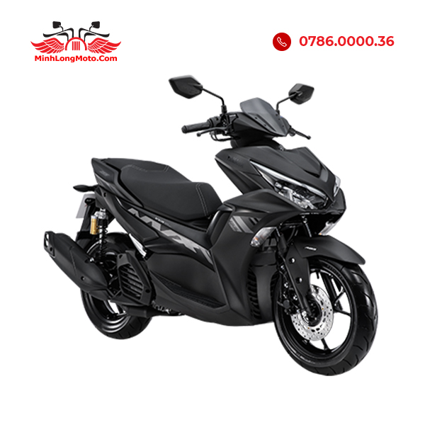 Yamaha NVX 155 VVA màu xám đen
