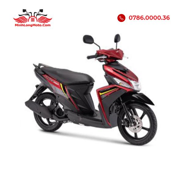 Mio M3 màu đen viền đỏ