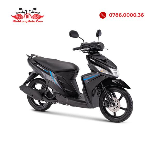 Mio M3 màu đen viền xanh