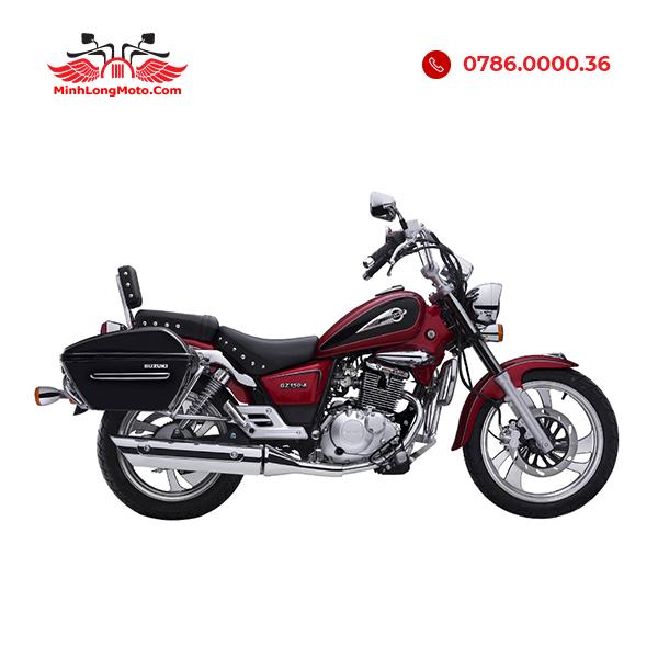 Suzuki GZ150A màu đỏ