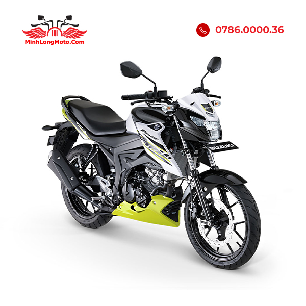 Suzuki Bandit 150 Trắng Vàng
