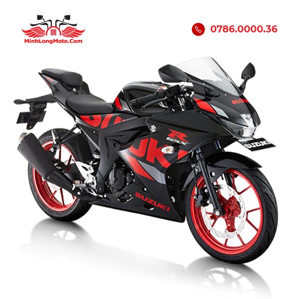 GSX R150 đen đỏ