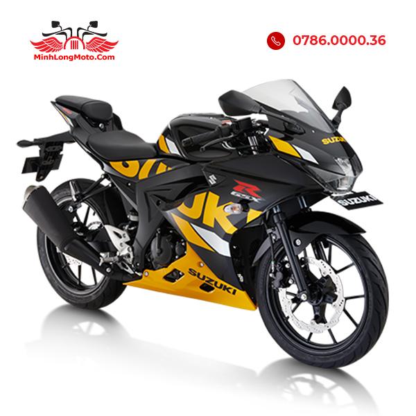 GSX R150 vàng đen