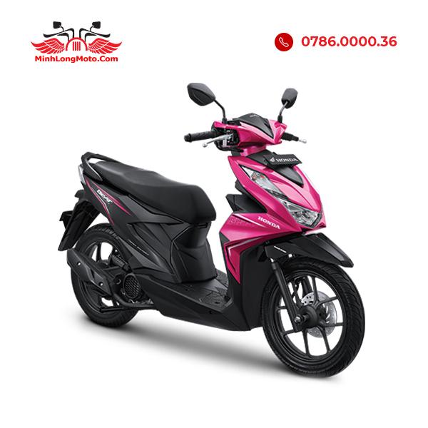 Xe Honda Beat 110 màu đen tím