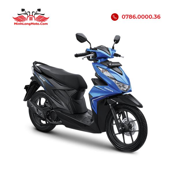 Xe Honda Beat 110 màu xanh thể thao