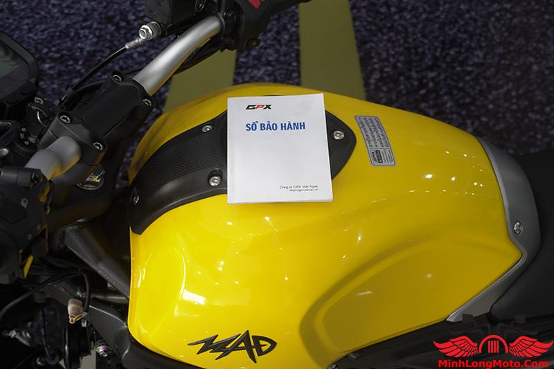 phiếu bảo hành GPX MAD 300