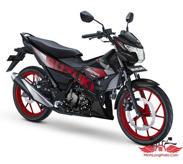 satria 2020 đen đỏ