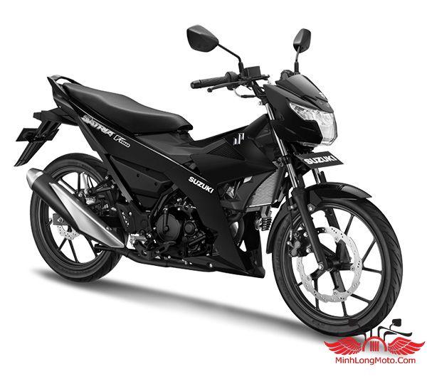 Suzuki Satria 2020 đen nhám