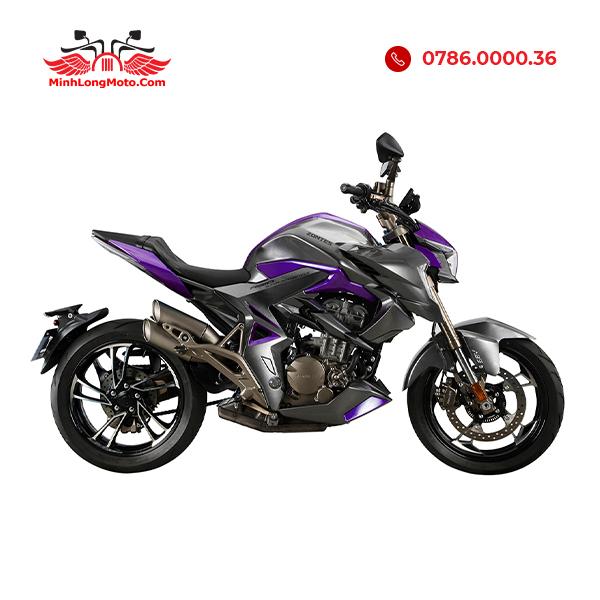 Zontes 310R1 màu tím