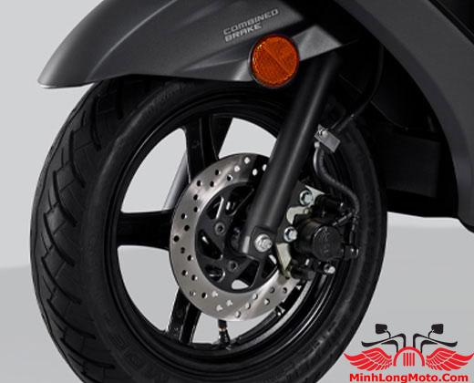 Phanh đĩa xe Suzuki Burgman 125