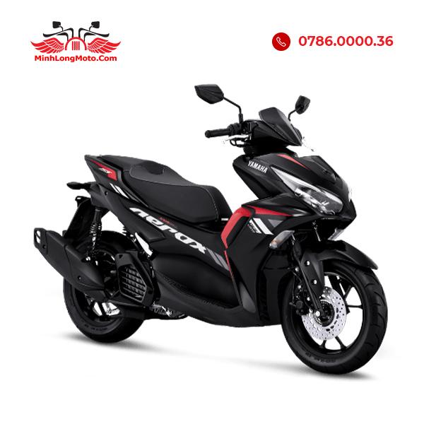 Yamaha Aerox 155 tiêu chuẩn màu Đỏ đen