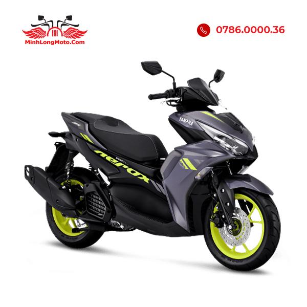 Yamaha Aerox 155 tiêu chuẩn màu Xám xanh