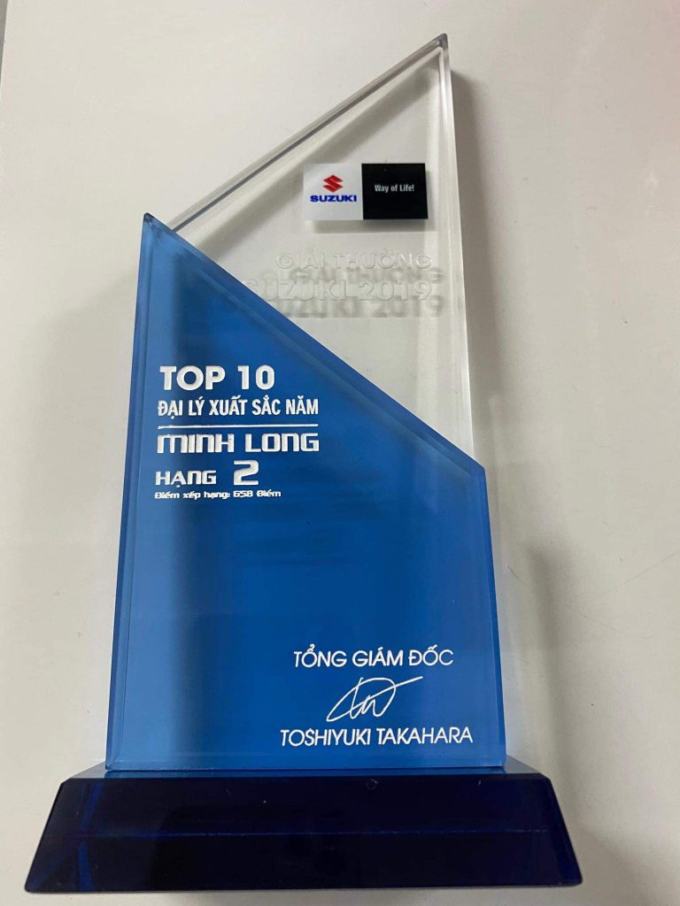 Giải thưởng Suzuki- Minh Long Motor