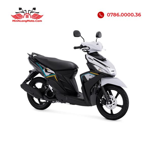 Mio M3 màu trắng đen viền xanh mới